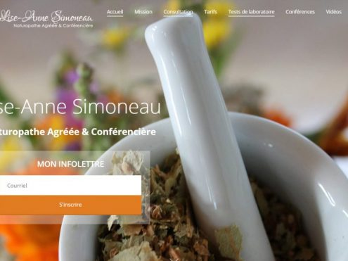 Conception de site Web, Conception de site Web et optimisation SEO | Massothérapie – Drummondville, Pagup, Agence SEO