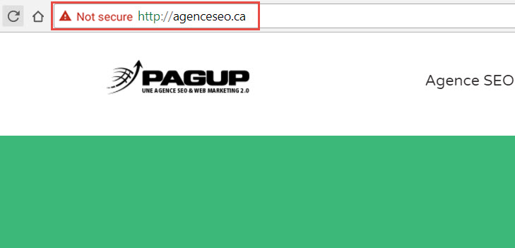 HTTPS, Pagup, Agence SEO