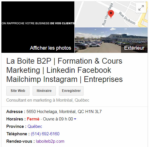 , Titre optimisé pour Google My Business, Pagup, Agence SEO